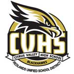 Redlands citrus valley high school logo